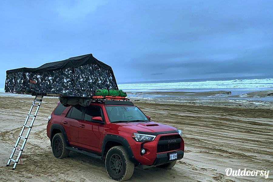 exterior 2017 Toyota 4Runner TRD Pro Millcreek, UT