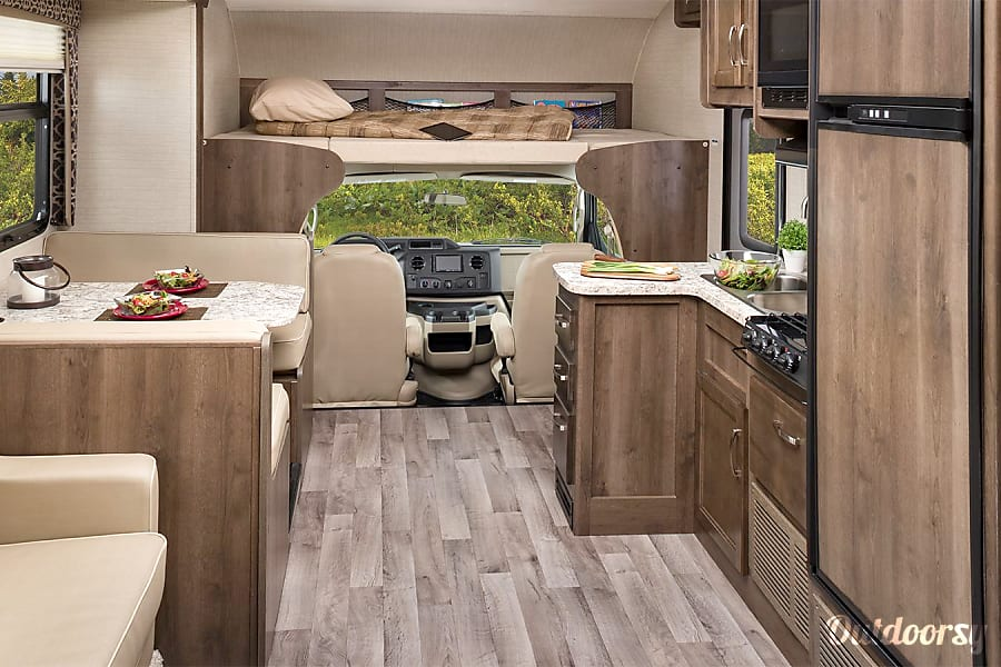 interior 2018 Jayco Redhawk 31XL Fairbanks, AK