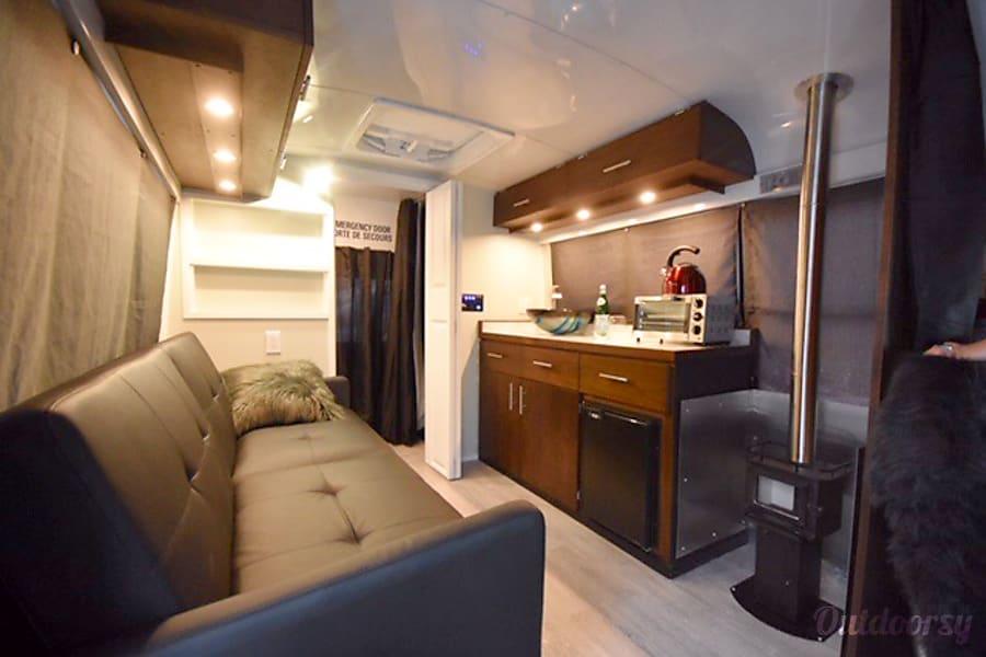 interior School Bus Conversion - The Big Short Prince Albert, SK