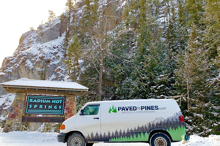 exterior Cozy Camper Van Prince Albert, SK