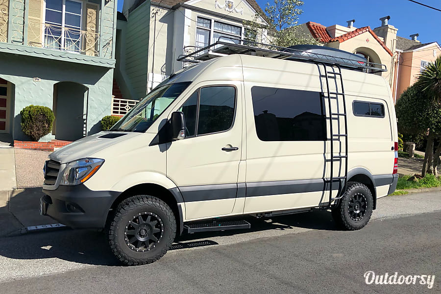 exterior 4x4 2017 Mercedes-Benz Sprinter 144 San Francisco, CA