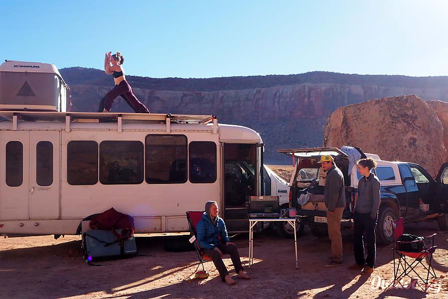 interior Adventure Bus: Custom 2008 Ford E450 Sacramento, CA