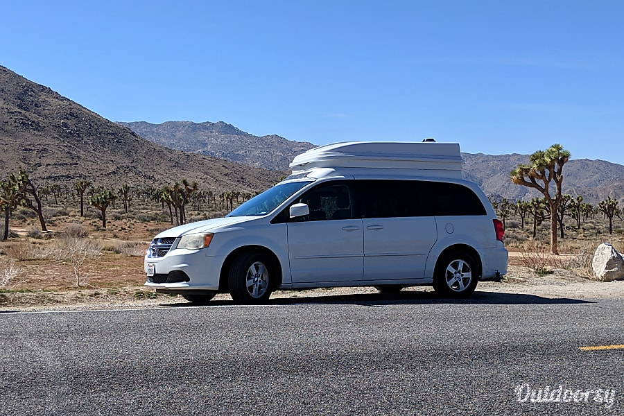 exterior Fully Loaded Minivan Camper, Perfect for Two and Ready For Adventure in Florida and Beyond Hollywood, FL