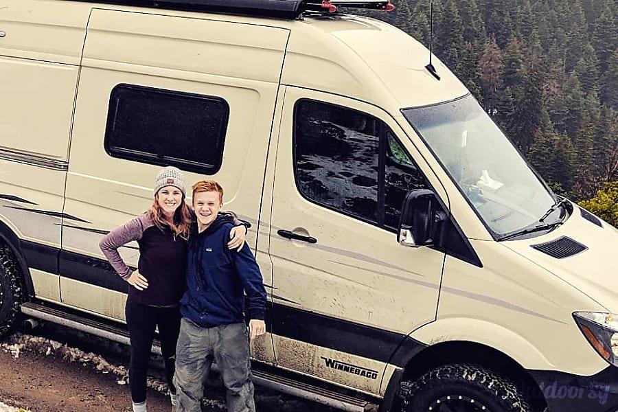 exterior 2019 Revel Adventure Van Mountain View, CA