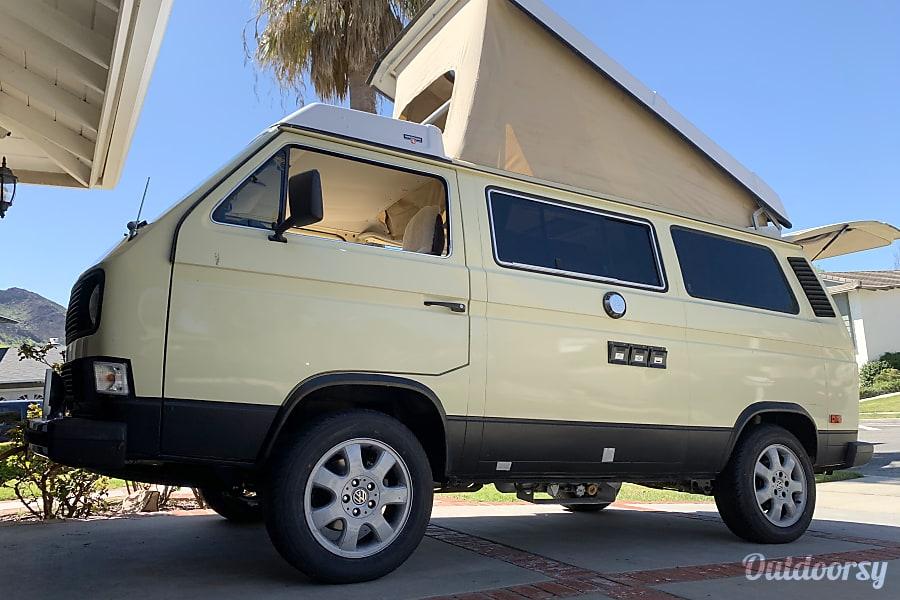 exterior 1984 Volkswagen Westfalia Agoura Hills, CA