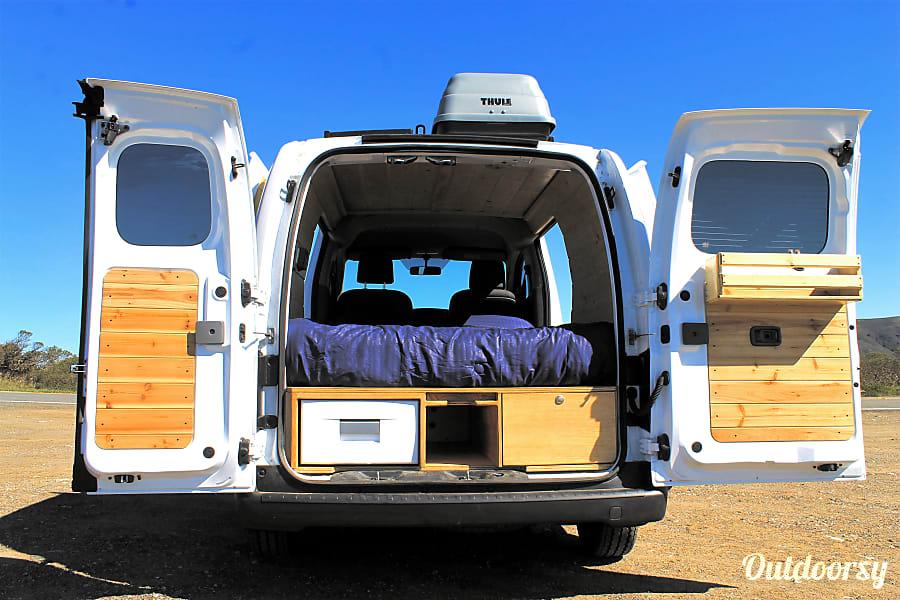 interior Brand-New 2018 Nissan NV200 San Anselmo, CA