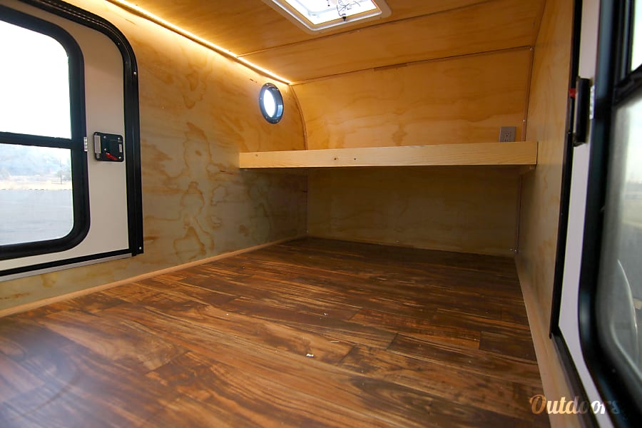 interior Teardrop Camp Trailer 2018 Bend, OR