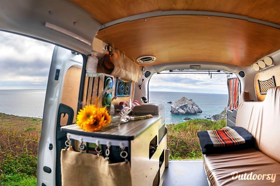 interior ❂ MONK'S GYPSY ❂     2018 Micro Camper Van Monterey, CA