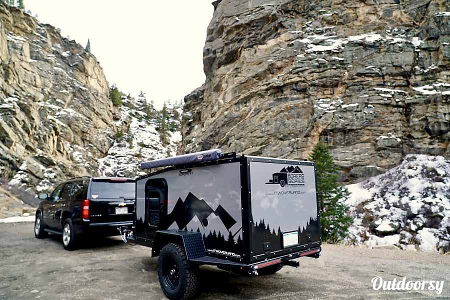 exterior Overland Trailer - 2019 Into the Wild Overland Boreas XT Denver, CO