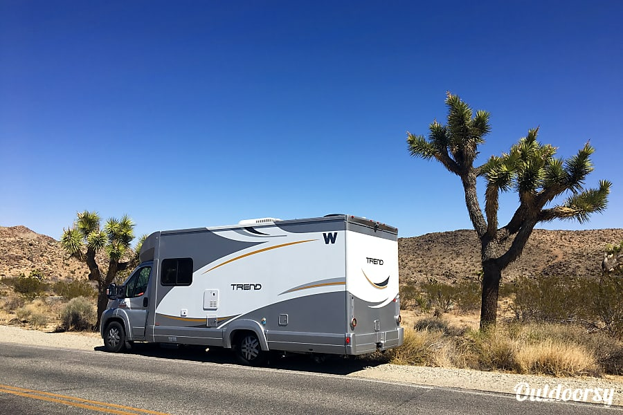 exterior 2016 Winnebago Trend --> Diesel Salt Lake City, UT