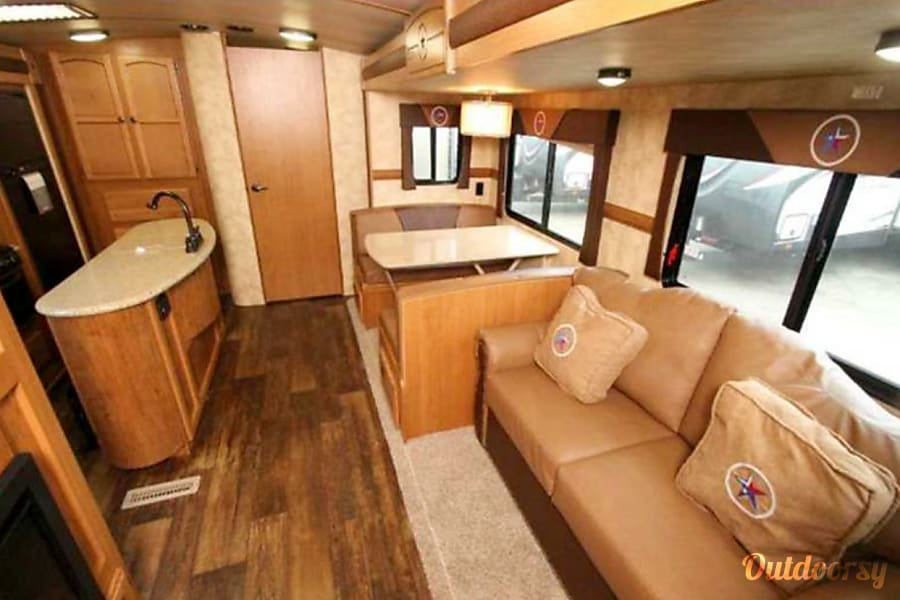 interior 2019 Deals on 2015 Bunkhouse: Sleeps 8-10 Trophy Club, TX