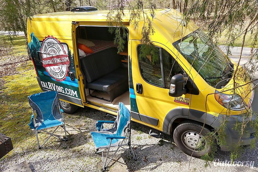 """Sunshine"" 2018  Promaster Campervan  Brand NEW Cleveland, TN"