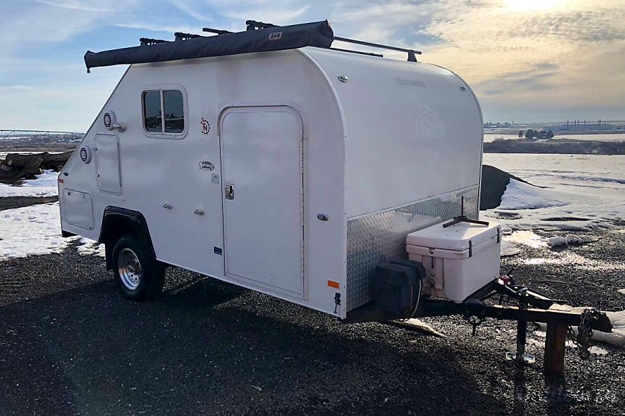 exterior Northwood True North Freelance 16 FT - Easy to Tow - Travel Trailer 2010 Lynnwood, WA