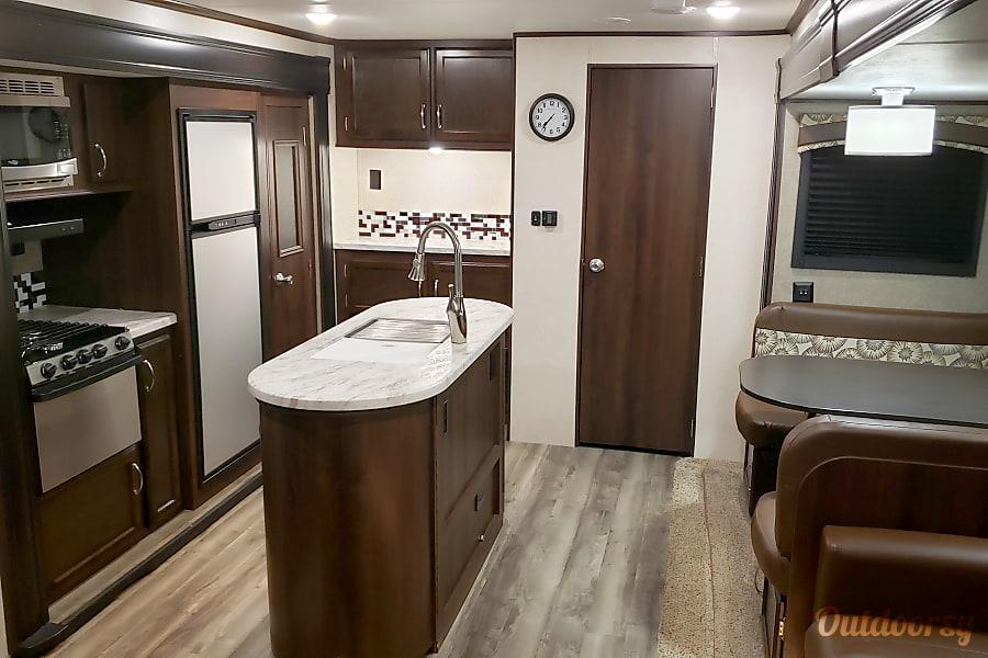 interior 2018 Jayco Jay Flight 33RBTS Wylie, TX