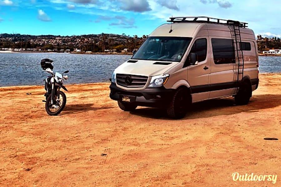 2018 Mercedes-Benz Sprinter - The Sand Shark - Adventure Wagon - San Diego, CA