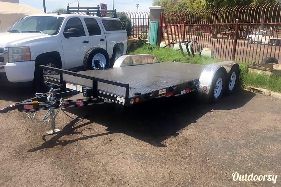 2019 Pj Trailers Car Hauler Steel Deck Motor Home Tow Vehicle Rental