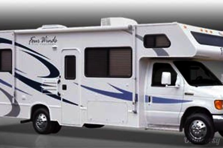 exterior INEXPENSIVE MOTORHOME ~ More Vacation for Less ~ 2008 Thor  FourWinds Five Thousand Series~ 29R Whetstone, AZ
