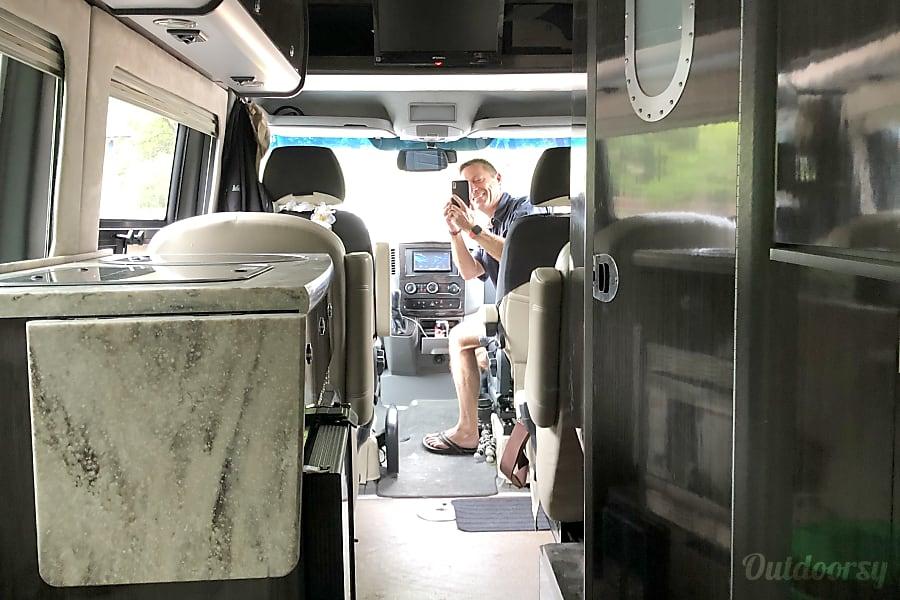 interior 2014 Airstream Interstate Austin, TX