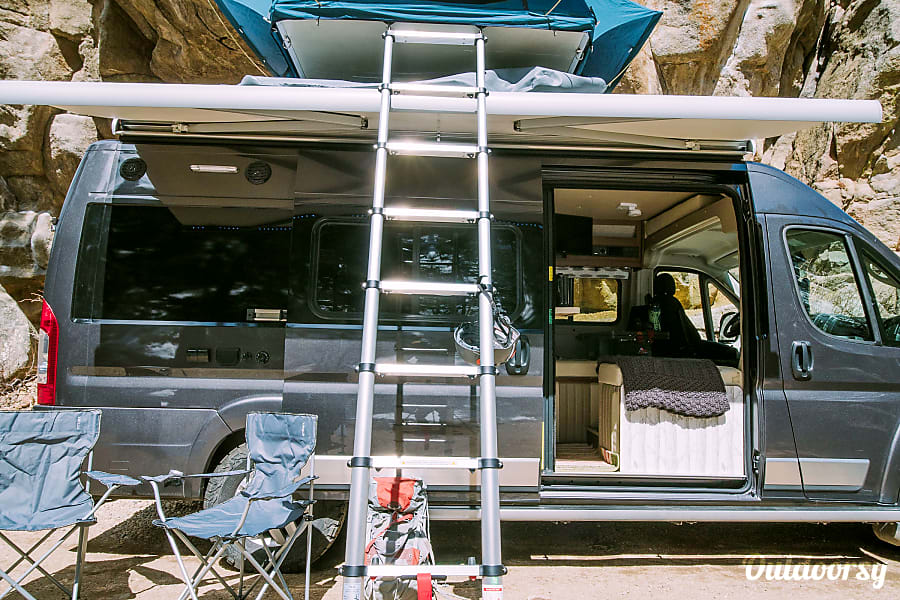 exterior 2018 Dodge Off-Grid Camper Van Boulder, CO