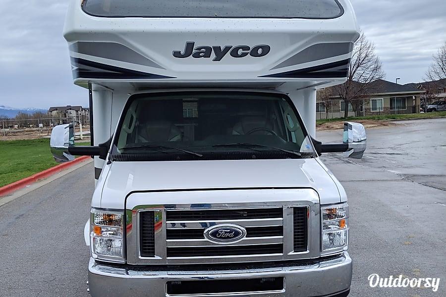 exterior 2018 Jayco Greyhawk Prestige 31FSP (Bunk Beds) Meridian, ID