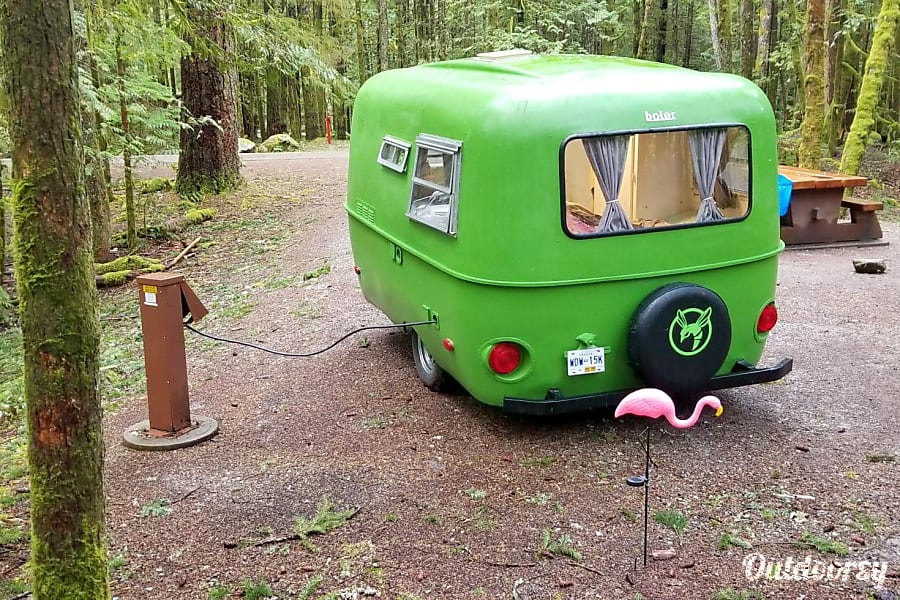 Green Hornet - Boler 13' Lightweight fiberglass easy-tow New Westminster, BC