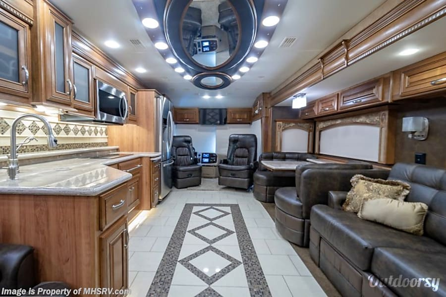 interior 2016 Entegra Coach Anthem 44dlq GREEN BROOK, NJ