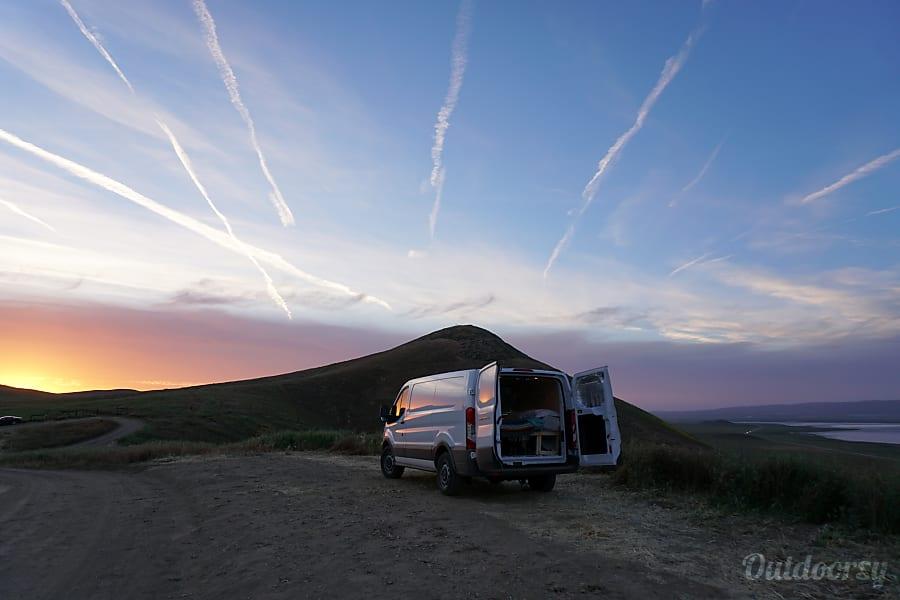 exterior 'Skip' 2016 Ford Transit Campervan Buena Vista, CO