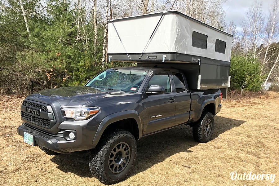 2016 Toyota Tacoma with Four Wheel Camper Bow, NH