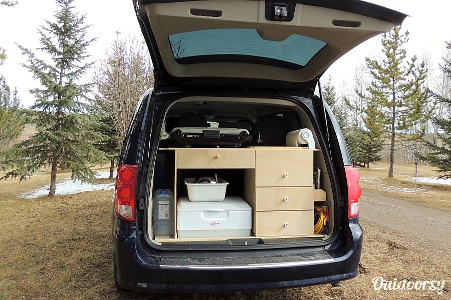 "interior ""Wolf"" 2015 Dodge Grand Caravan Turner Valley, AB"