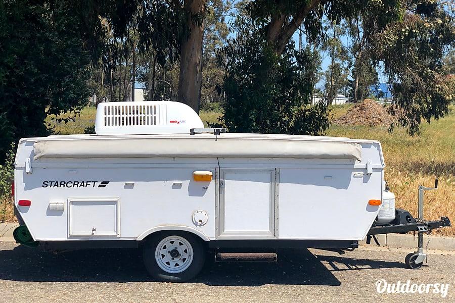 exterior Popup Adventure Time! Starcraft Camping Trailers Santa Maria, CA