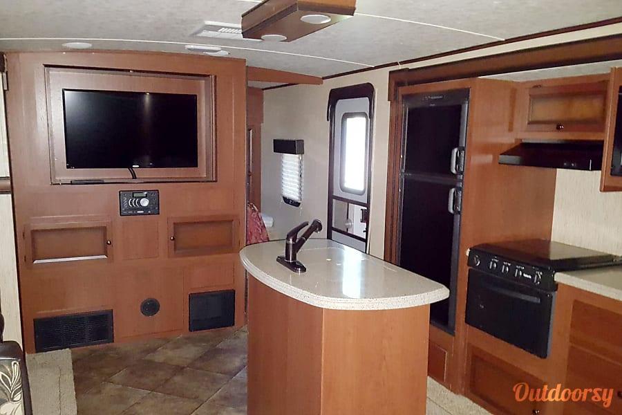 interior 2015 Palomino Solaire Ultra Lite DeLand, FL