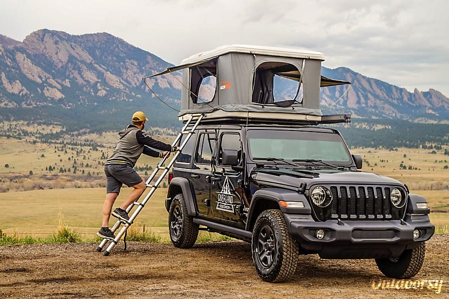 4-Door Jeep Sport Camper Denver, CO
