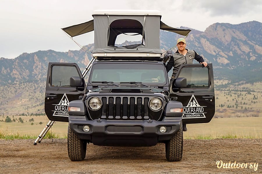 "4-Door Jeep Camper | ""Iron Raven"" Denver, CO"