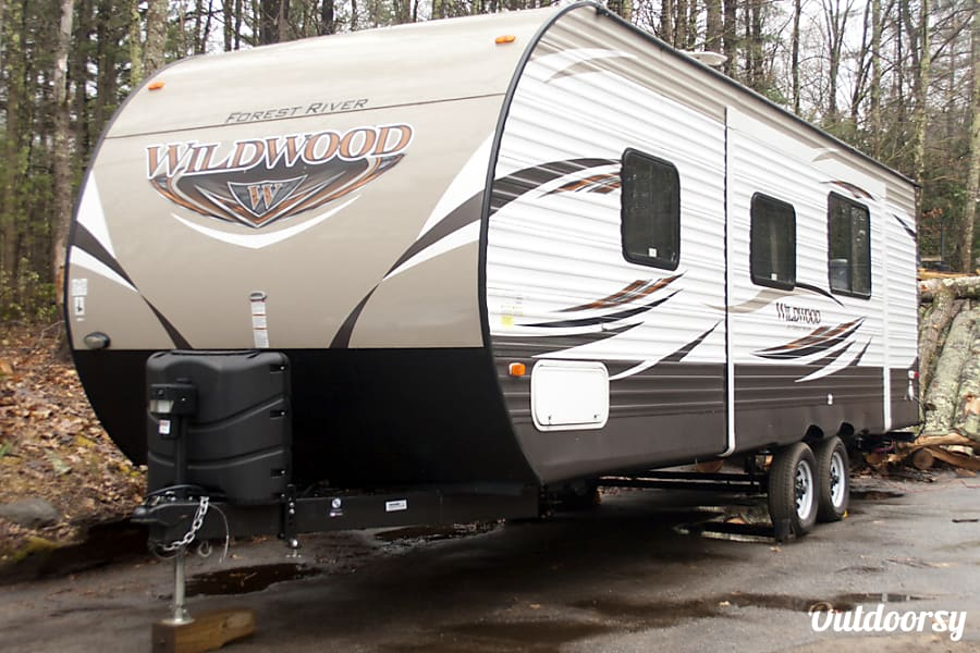 exterior 2017 Forest River 26' Travel Trailer Windham, NH