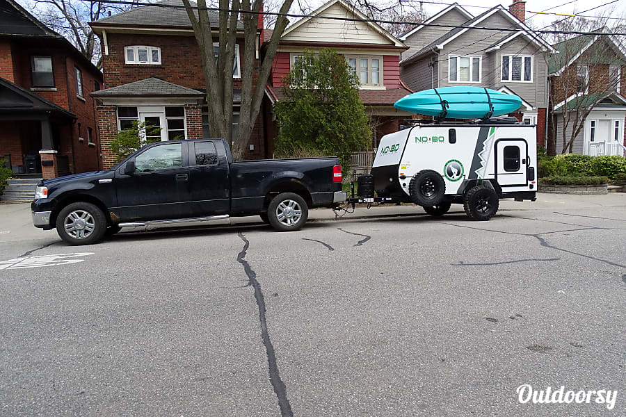 Lightweight, Compact Toy Hauler, with Air Con and Heat Toronto, ON