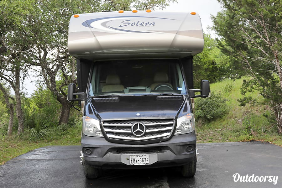 exterior 2015 Mercedes BENZ Sprinter Solera, Sleeps 6 San Antonio, TX