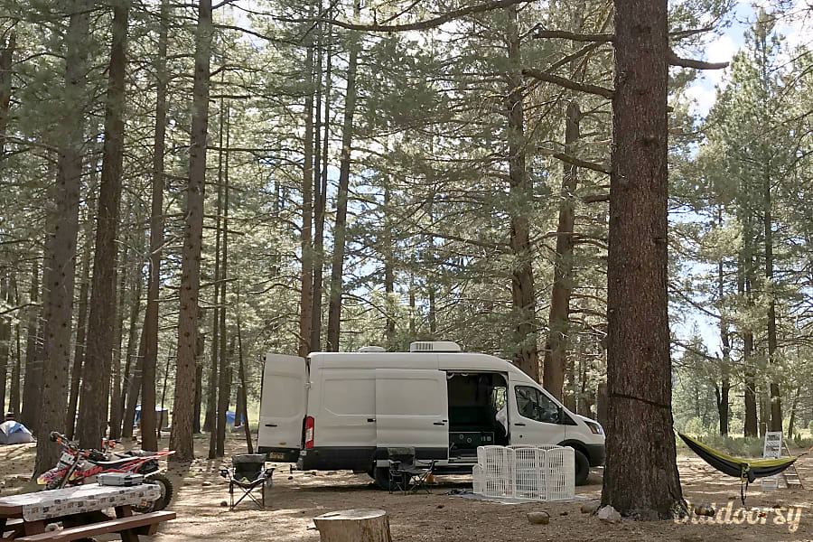 exterior Trail Dogs Adventure Vans 2017 Ford Transit Fletcher, NC
