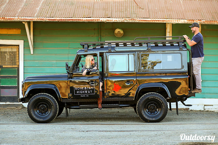 Land Rover Truck >> Bohemian Highway Travel Co Camp On The Coast