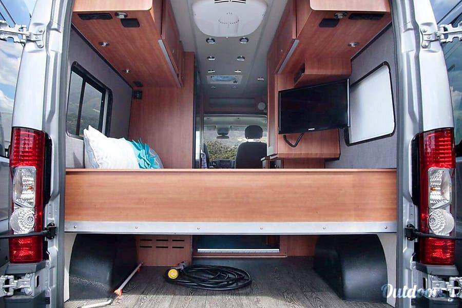 interior 2017 Dodge Sprinter Clarence Rockland, ON