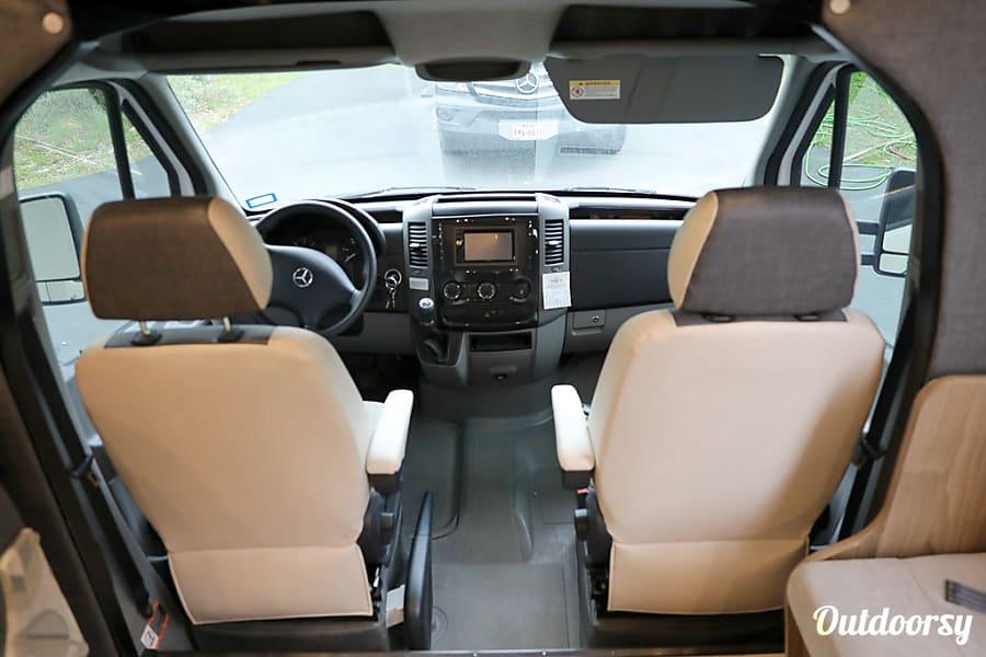 interior 2017 Mercedes-Benz Sprinter Prism(AUS) (Unlimited Mileage, Low deposit) Austin, TX