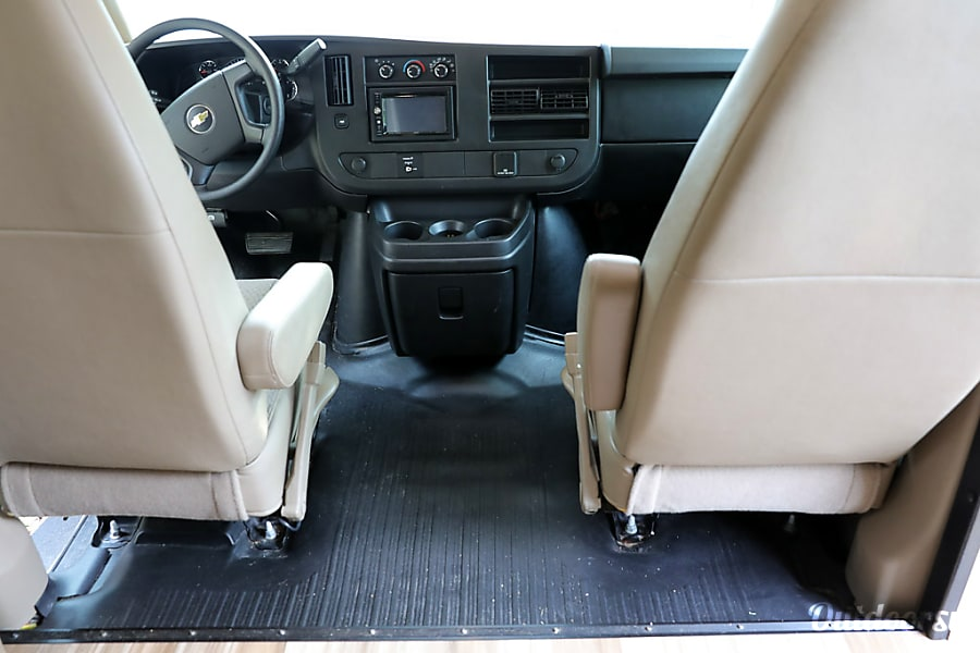 interior 2016 Coachmen Freelander 21RS (AUS) Austin, TX