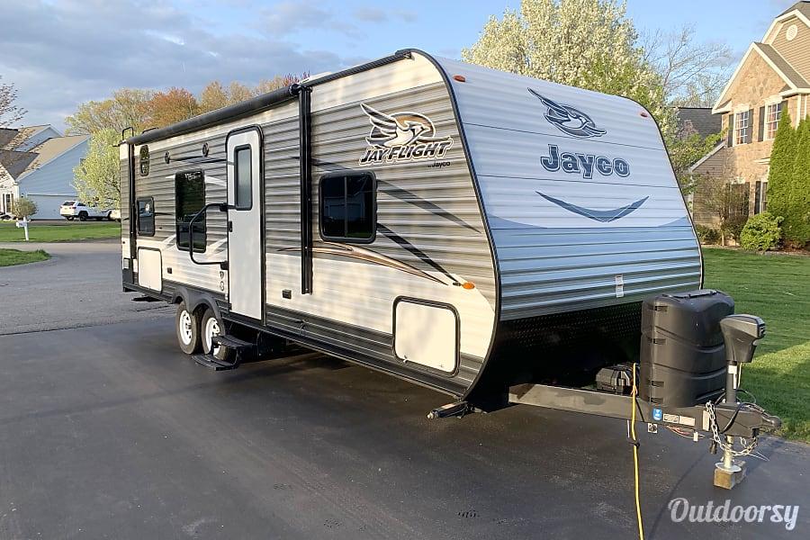 exterior 2017 Jayco Jay Flight 26BH Latham, NY