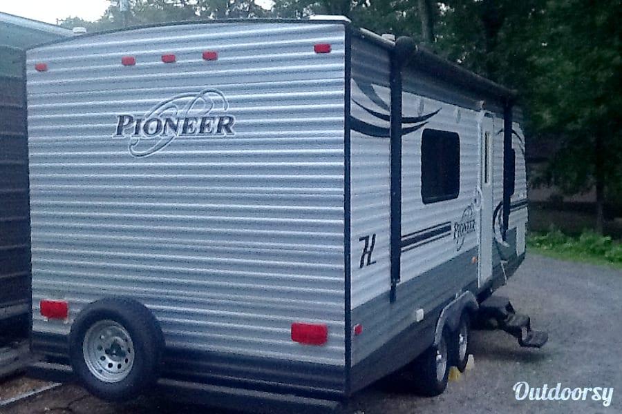exterior 2015 Heartland Pioneer Alexander City, AL