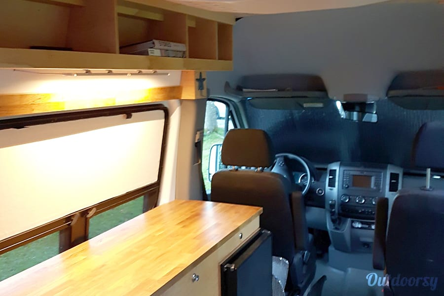 interior 2014 Mercedes-Benz Sprinter Squamish, BC