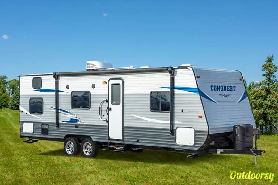 exterior 2019 Gulf Stream Conquest ---Winter Special, $80/night--- Oklahoma City, OK