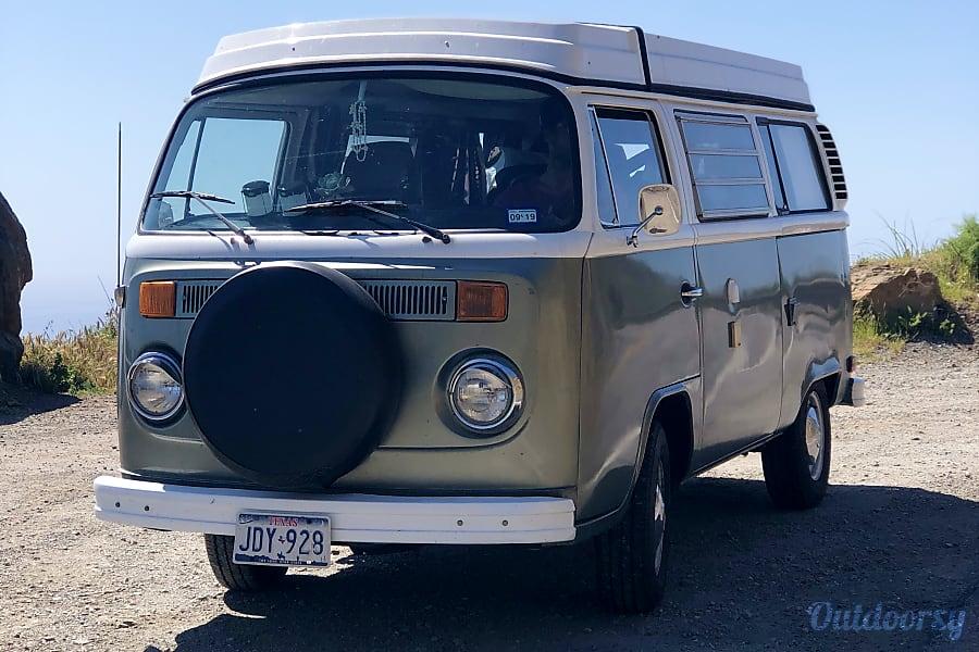 exterior AWESOME 1977 Volkswagen Westfalia camper in Los Angeles, CA Los Angeles, CA