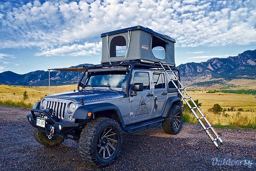 DENVER | 4-Door Jeep Rubicon Camper Denver, CO