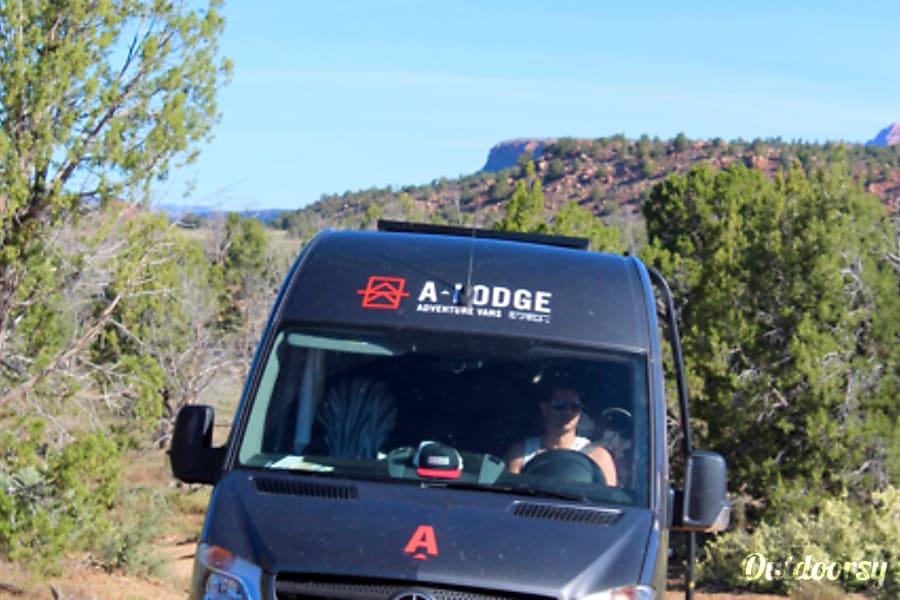 exterior A-Lodge Adventure Van - 2017 Mercedes Sprinter Boulder, CO