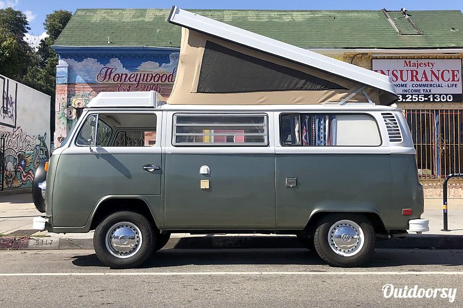 exterior AWESOME 1977 Volkswagen Westfalia camper in Joshua Tree area! Los Angeles, CA