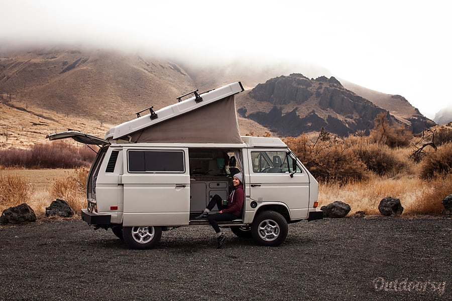 1987 Volkswagen Vanagon Camper Motor Home Camper Van